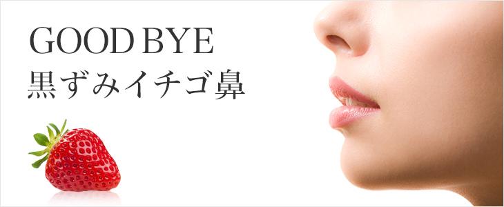 goodbye 黒ずみいちご鼻
