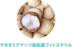 マカダミアナッツ脂肪酸フィトステリル