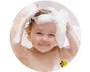 ベビーシャンプーでよく使われるマイルドな洗浄剤コカミドプロピルベタインを採用!